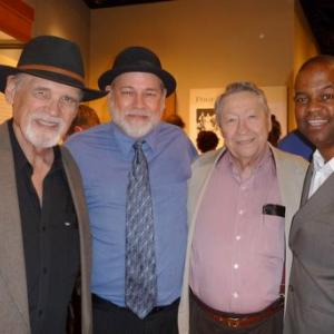 With three legends - Duane Eddy, the original guitar hero, the architect of Elvis' Sun Records sides, the immortal Scotty Moore, and the great jazz guitarist Earl Klugh, at the Country Music Hall of Fame for the opening of the Chet Atkins Exhibit. Every one a class act!